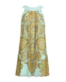 Marvina Jewel paisley swing dress