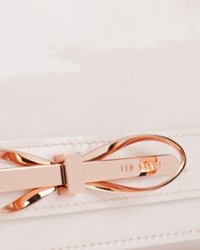 Phoebee Patent leather cross body bag
