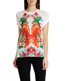 Cahya tropical toucan t-shirt