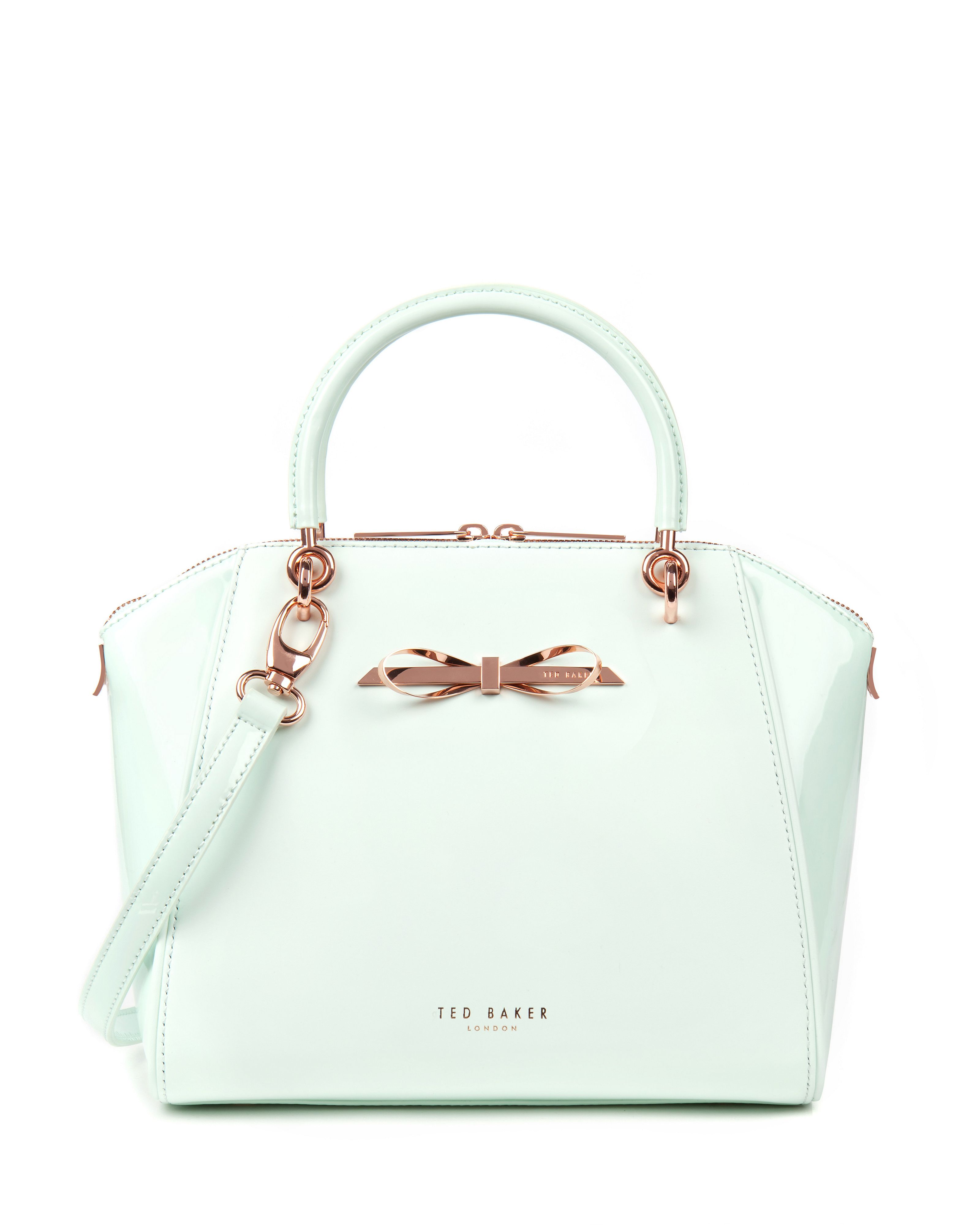 Ted Baker Pailey Small slim bow tote bag