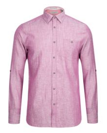 Farewel Plain Short Sleeve Shirt