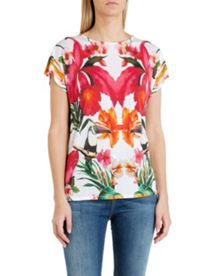 Keyyle tropical toucan print t-shirt