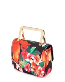 Tabby tropical toucan clutch bag