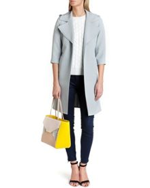 Caila deconstructed trench coat
