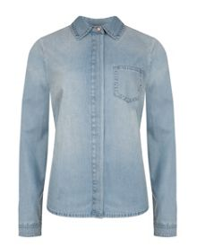 Jacalyn denim shirt