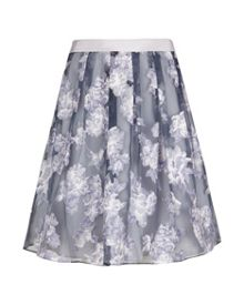 Graysie full floral skirt