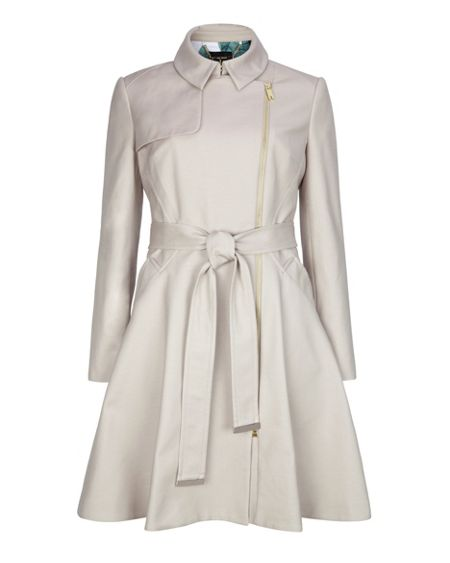 Ted Baker Kelsy collared trench coat