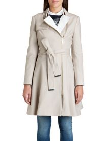 Kelsy collared trench coat