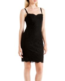 Valarie Lace bodycon dress