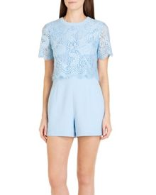 Zasha Lace bodice playsuit