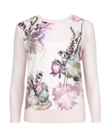 Yasus Torchlit floral print sweater