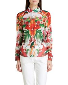 Tamir tropical toucan shirt