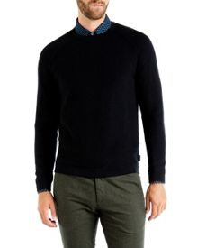 Ted Baker Firsty Textured wool jumper
