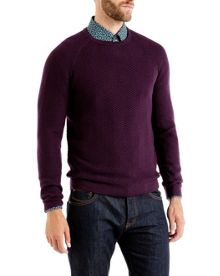 Firsty Textured wool jumper