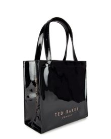Peticon Small bow trim shopper bag