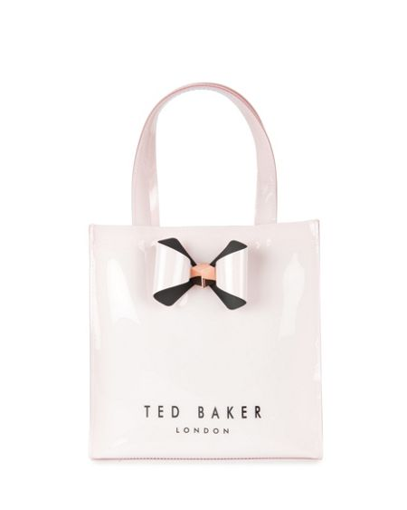 Ted Baker Peticon Small bow trim shopper bag