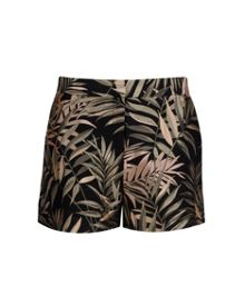 Zakiash Palm jacquard suit shorts