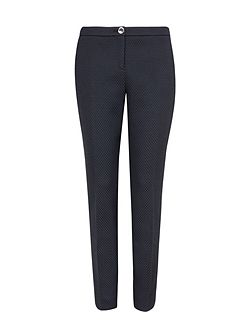 Ted Baker Roxit Honeycomb jacquard suit trousers