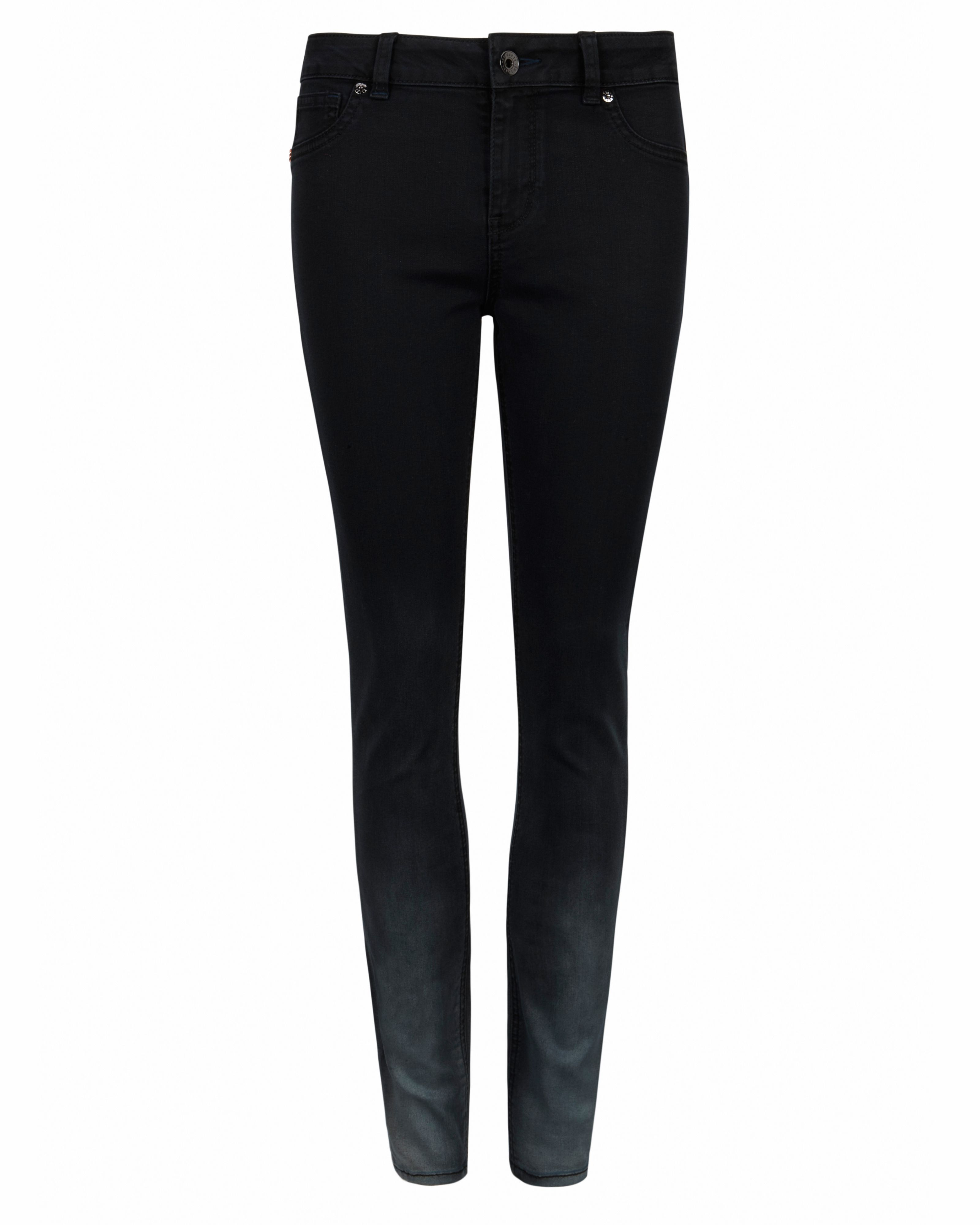Ted Baker Ombray Ombre Skinny Jeans, Black