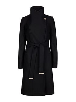Lorili Long Wrap Coat