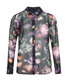 Malinda Shadow Floral shirt
