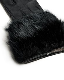 Jania Faux Fur leather gloves