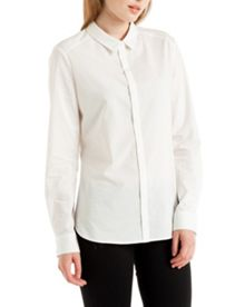 Aviana Dot Stripe Cotton Shirt