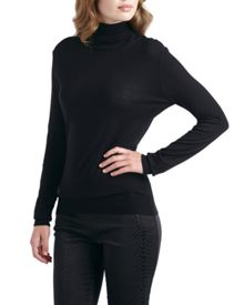 Vione Silk Roll Neck Jumper