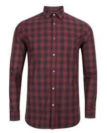 Fulstop Ombré checked shirt