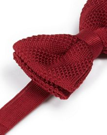 Nitbow knitted bow tie