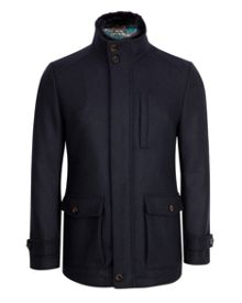 Bartley Wool pocket coat