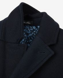 Truxton Colour block wool coat