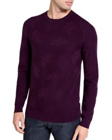 Feelix Jacquard Crew Neck Jumper