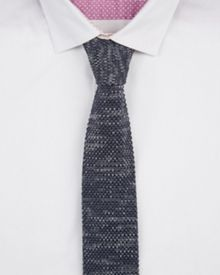 Fleknit knitted tie