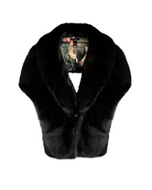Ted Baker Capell Faux fur cape