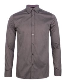 Ted Baker Verticl Satin stripe shirt