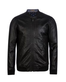 Ovid Leather bomber jacket