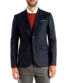 Imlay Chalk stripe wool blazer
