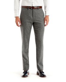 Illitro Textured Wool Trousers