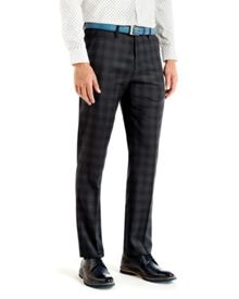 Yonktro checked wool trousers