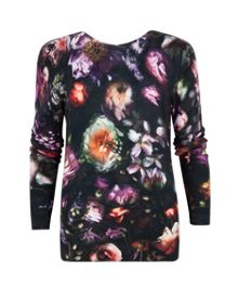 Noline Shadow Floral sweater