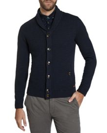 Jimboe textured wool cardigan