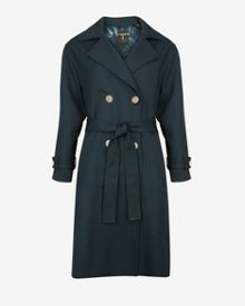 Vasna Double-breasted trench coat