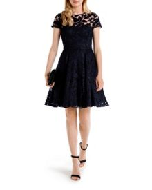 Caree Floral lace dress