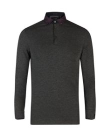 Longlit Long Sleeved Polo Shirt