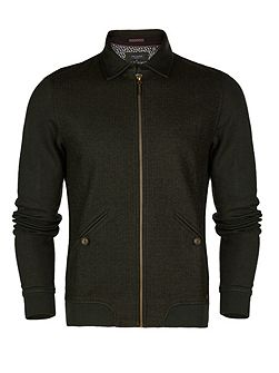 Men's Ted Baker Pypa collared jersey jacket