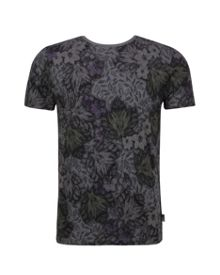Ted Baker Othelo Leaf Print T-Shirt