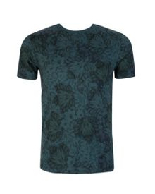 Othelo Leaf Print T-Shirt
