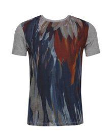 Woodpek Feather graphic print T-shirt