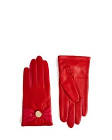 Ted Baker Bowson Button bow detail gloves